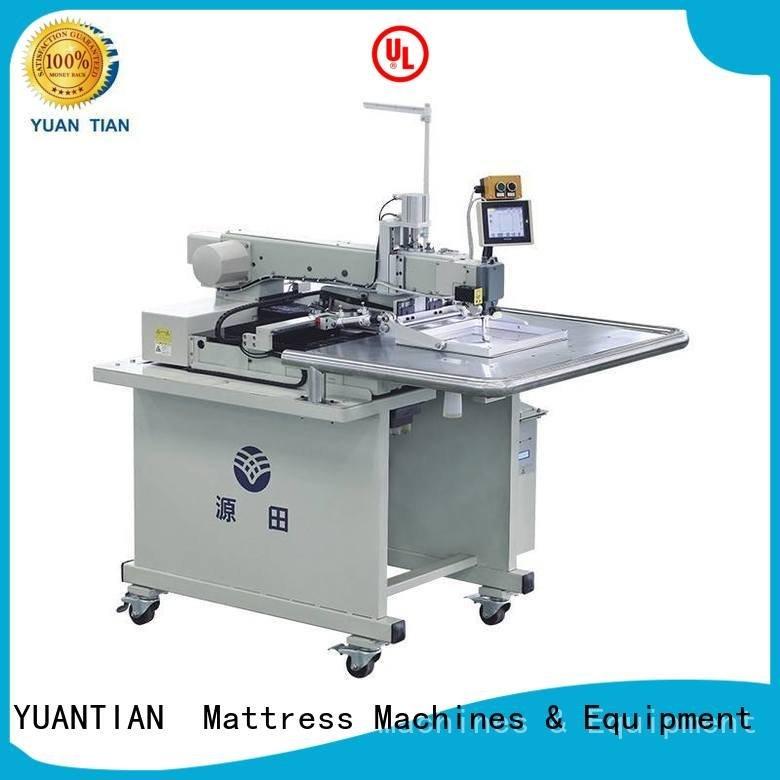 YUANTIAN Mattress Machines singer  mattress  sewing machine price autimatic mattress label