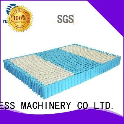 YUANTIAN Mattress Machines nested nonwoven pocket mattress spring unit unit