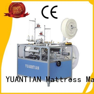 Double Sewing Heads Flanging Machine sewing machine flanging mattress YUANTIAN Mattress Machines