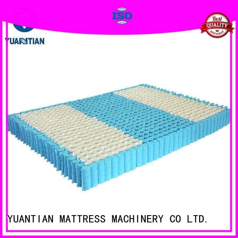 Wholesale bottom nested mattress spring unit YUANTIAN Mattress Machines Brand