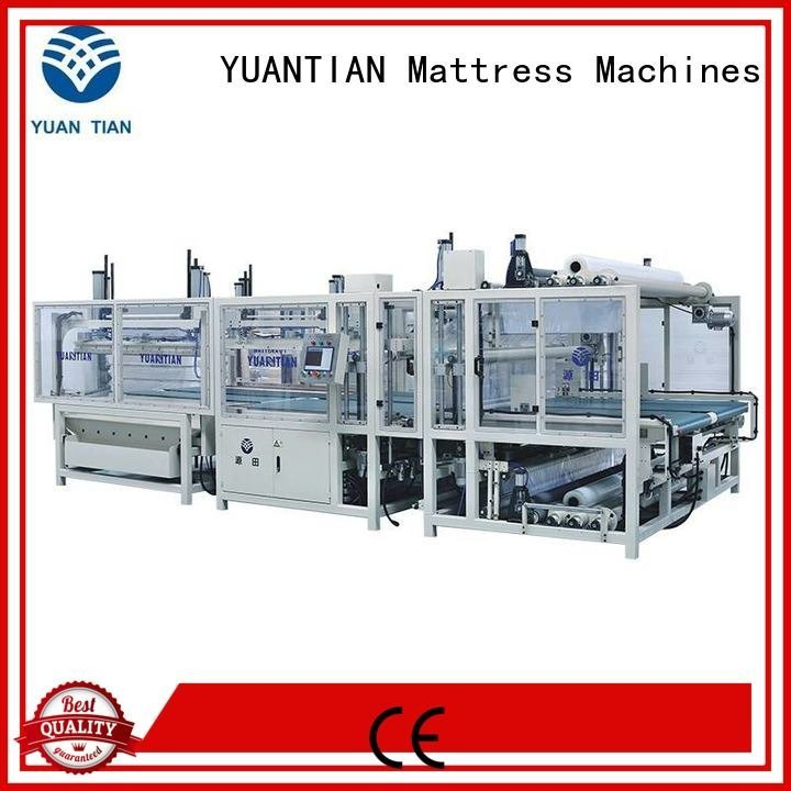spring zx1 unit poket YUANTIAN Mattress Machines mattress packing machine
