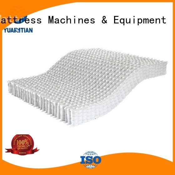YUANTIAN Mattress Machines mattress spring unit covers nested nonwoven zoned