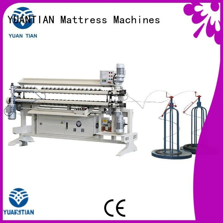 YUANTIAN Mattress Machines bonnell spring unit machine cw2 machine spring