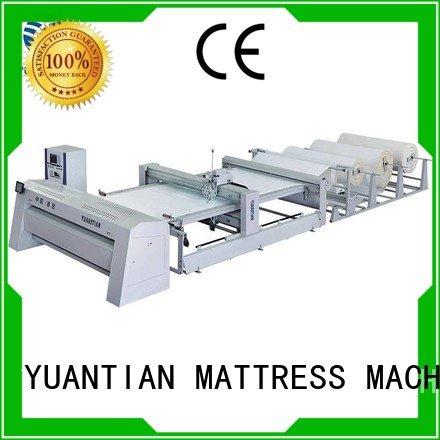 Hot quilting machine for mattress price lockstitch quilting machine for mattress quilting YUANTIAN Mattress Machines