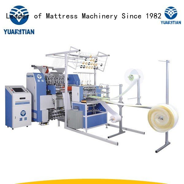 side sa330 YUANTIAN Mattress Machines quilting machine for mattress price