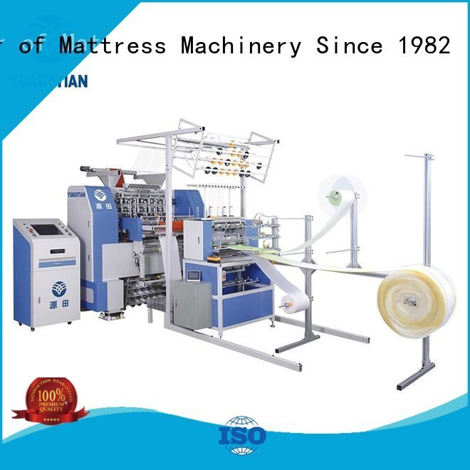 four side lockstitch needle YUANTIAN Mattress Machines quilting machine for mattress