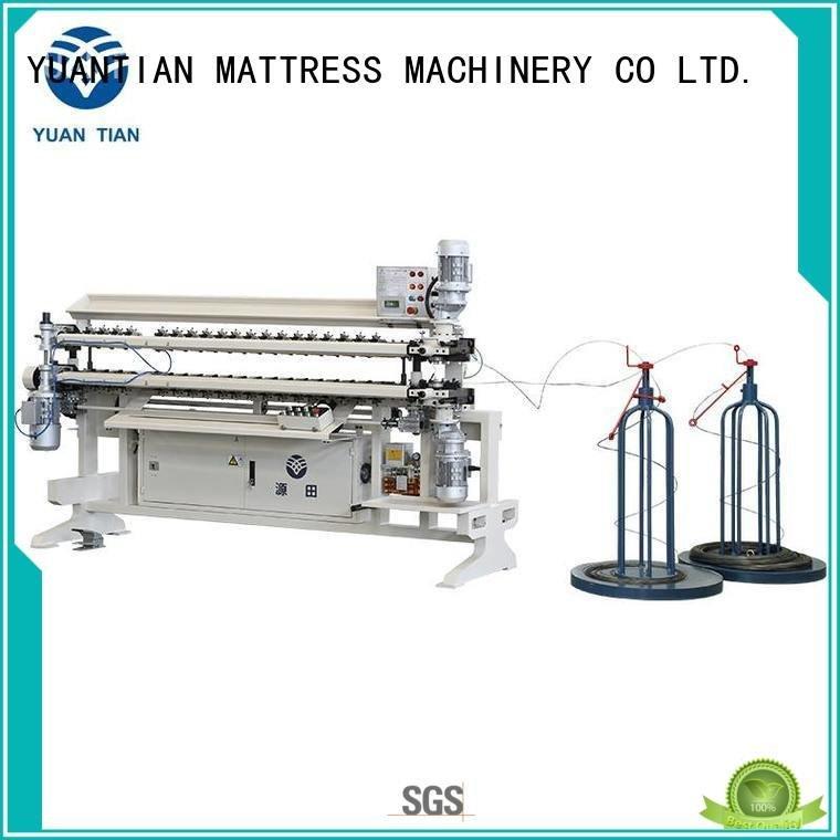 bonnell spring unit machine semiauto spring Bonnell Spring Assembly  Machine YUANTIAN Mattress Machines Brand