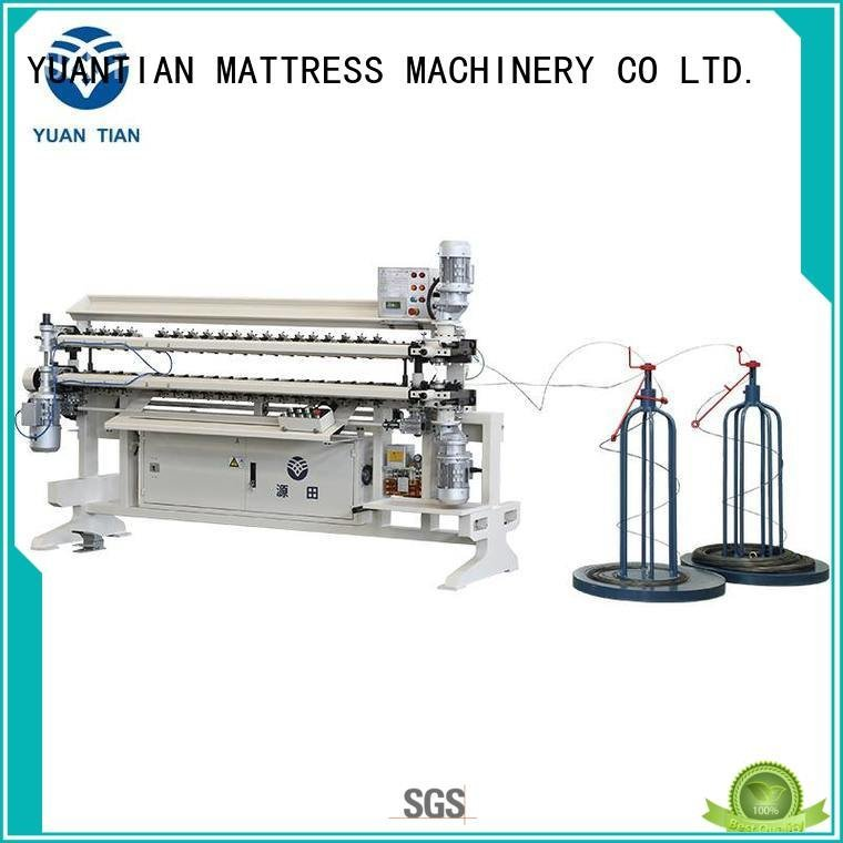 bonnell spring unit machine semiauto spring Bonnell Spring Assembly  Machine YUANTIAN Mattress Machines Brand