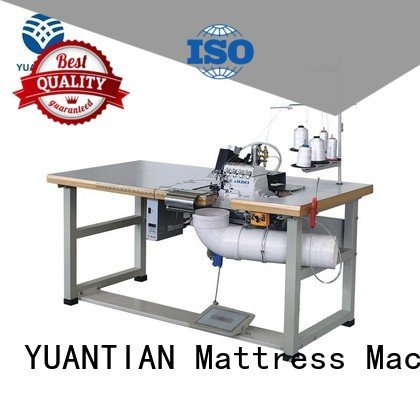 flanging multifunction YUANTIAN Mattress Machines Double Sewing Heads Flanging Machine mattress