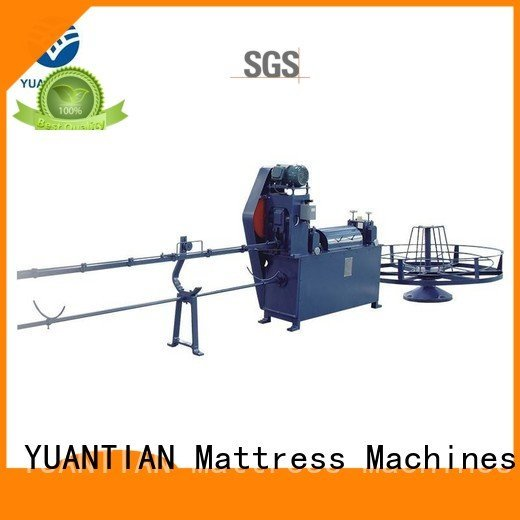 YUANTIAN Mattress Machines Brand wire straightening rollpack mattress packing machine zx1