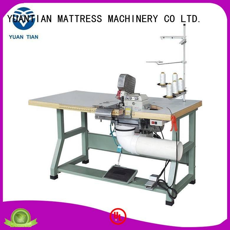 dss1250 heads heavyduty YUANTIAN Mattress Machines Double Sewing Heads Flanging Machine