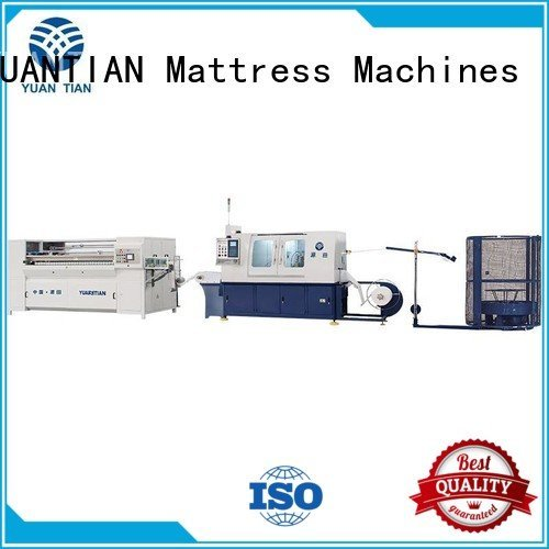 Automatic Pocket Spring Machine high dzg1a YUANTIAN Mattress Machines Brand