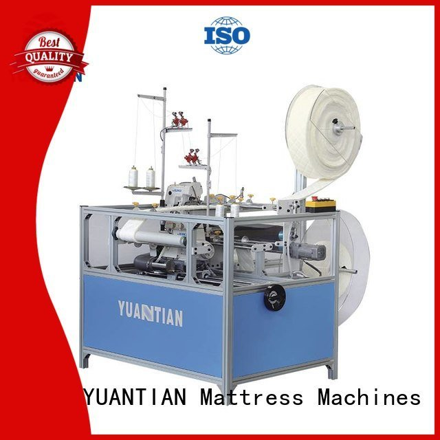 Custom Mattress Flanging Machine flanging double