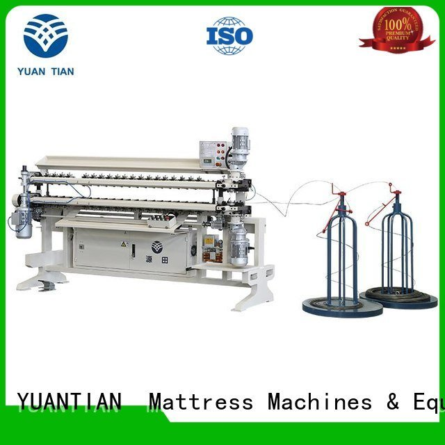 YUANTIAN Mattress Machines Brand assembling bonnell spring unit machine semiauto spring