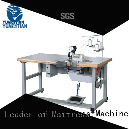 Double Sewing Heads Flanging Machine mattress heavyduty flanging YUANTIAN Mattress Machines