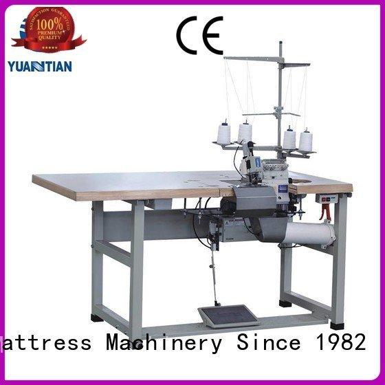 multifunction heads YUANTIAN Mattress Machines Mattress Flanging Machine