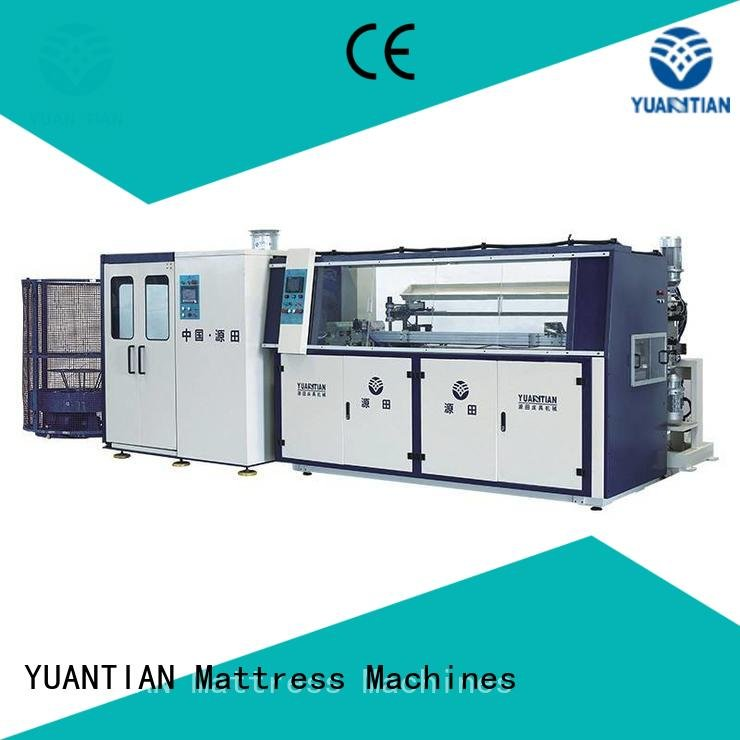 coiler automatic line production YUANTIAN Mattress Machines bonnell spring machine