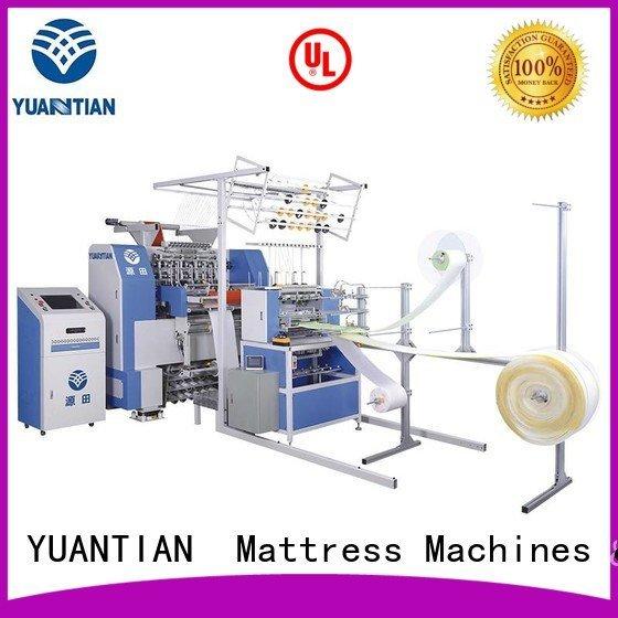 quilting lockstitch needle YUANTIAN Mattress Machines quilting machine for mattress price