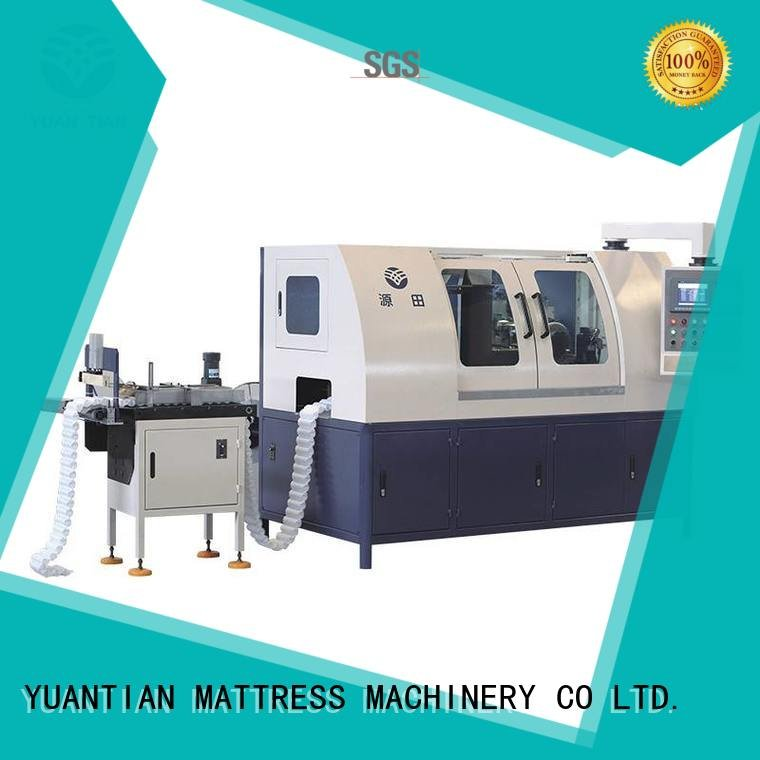 dn6 machine high Automatic High Speed Pocket Spring Machine YUANTIAN Mattress Machines