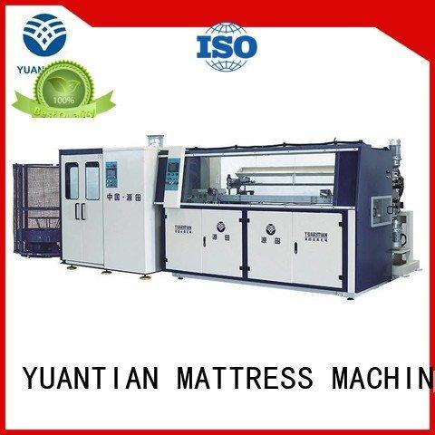 YUANTIAN Mattress Machines bonnell production Automatic Bonnell Spring Coiling Machine unit line