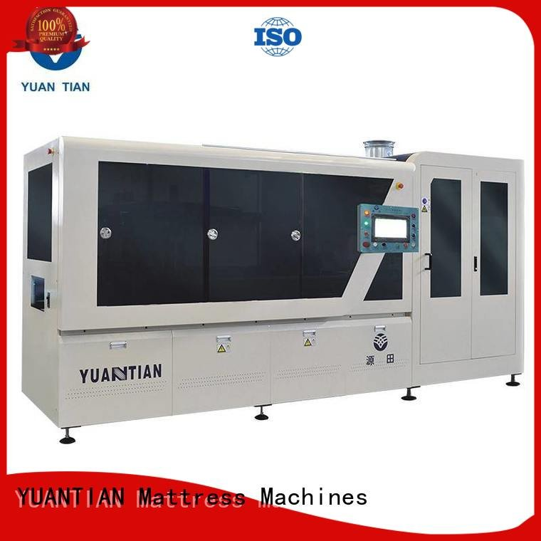 Custom Automatic High Speed Pocket Spring Machine dzg1b speed production YUANTIAN Mattress Machines