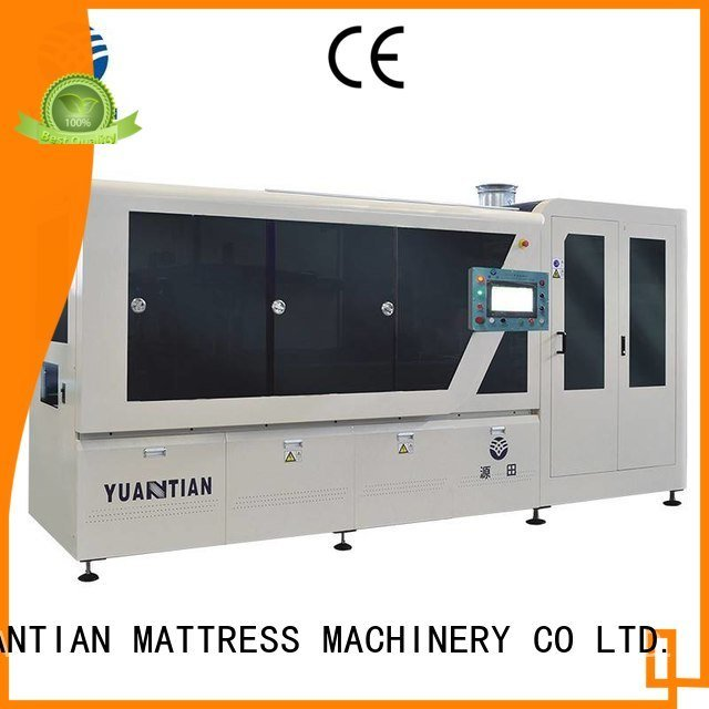 YUANTIAN Mattress Machines pocket Automatic High Speed Pocket Spring Machine pocketspring coiling