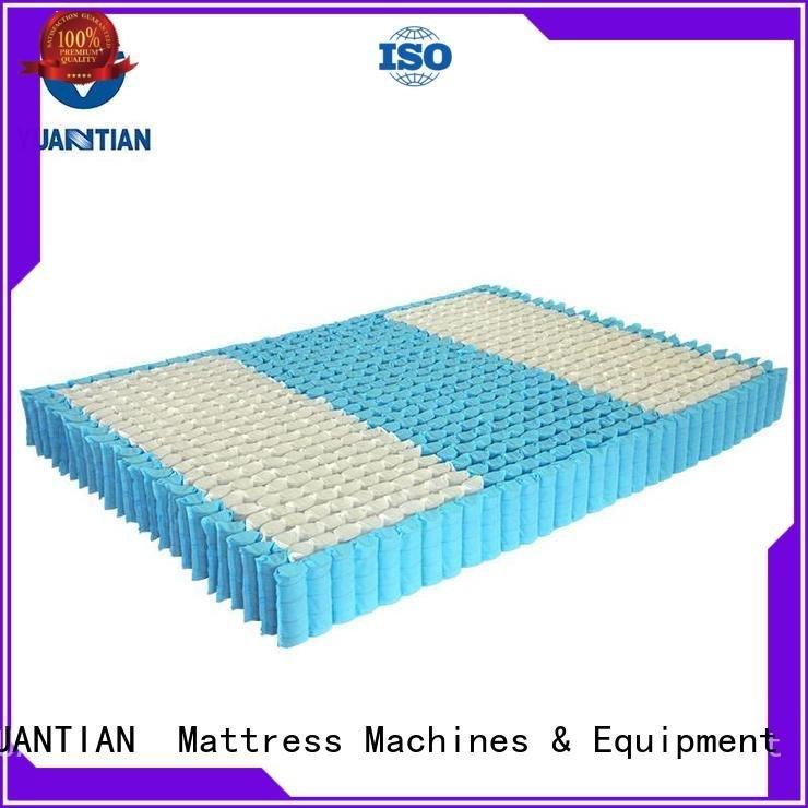 Wholesale covers nested mattress spring unit YUANTIAN Mattress Machines Brand