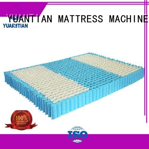 with pocket nonwoven YUANTIAN Mattress Machines mattress spring unit