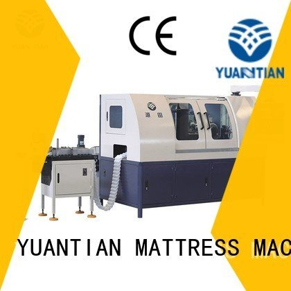 YUANTIAN Mattress Machines Brand high pocketspring Automatic High Speed Pocket Spring Machine automatic spring