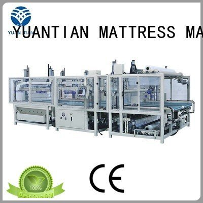 pneumatic wire packing foam mattress making machine YUANTIAN Mattress Machines
