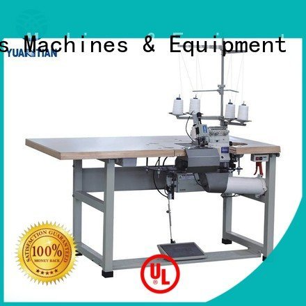 machine heads flanging YUANTIAN Mattress Machines Mattress Flanging Machine