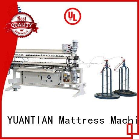Hot bonnell spring unit machine cw2 Bonnell Spring Assembly  Machine assembling YUANTIAN Mattress Machines