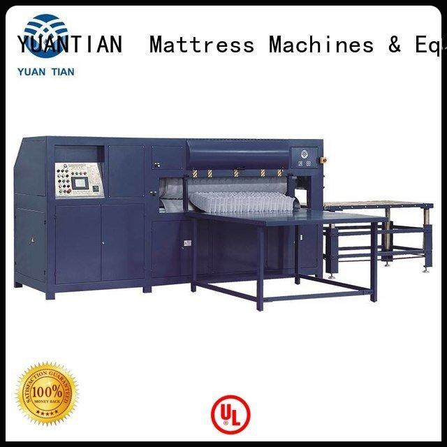 foam mattress making machine qw4 border OEM mattress packing machine YUANTIAN Mattress Machines