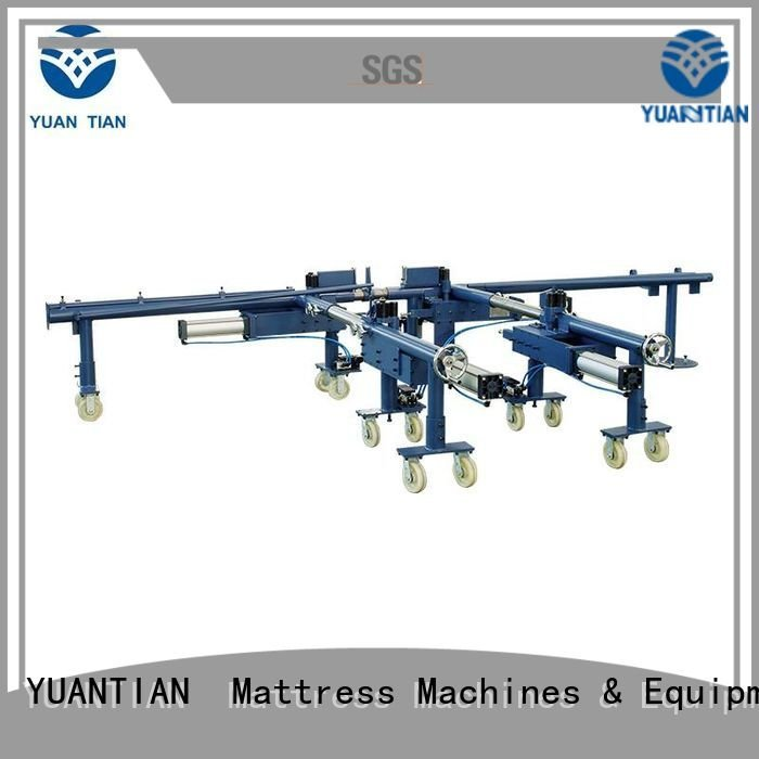 YUANTIAN Mattress Machines bending mattress packing machine rollpack unit