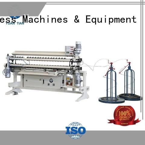 spring semiauto YUANTIAN Mattress Machines Brand Bonnell Spring Assembly  Machine