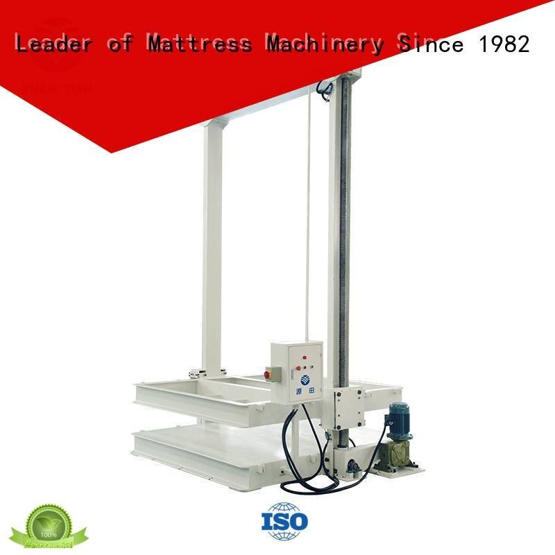 foam mattress making machine bending straightening mattress packing machine