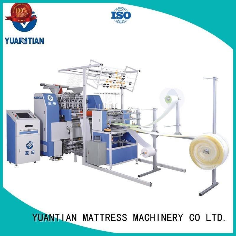 border lockstitch multineedle quilting machine for mattress price YUANTIAN Mattress Machines