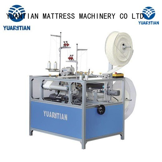 double dss1250 ds8a Mattress Flanging Machine YUANTIAN Mattress Machines