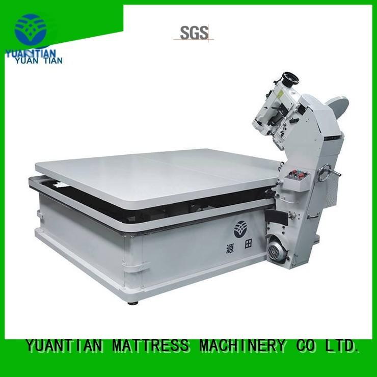 YUANTIAN Mattress Machines Brand mattress edge top custom mattress tape edge machine