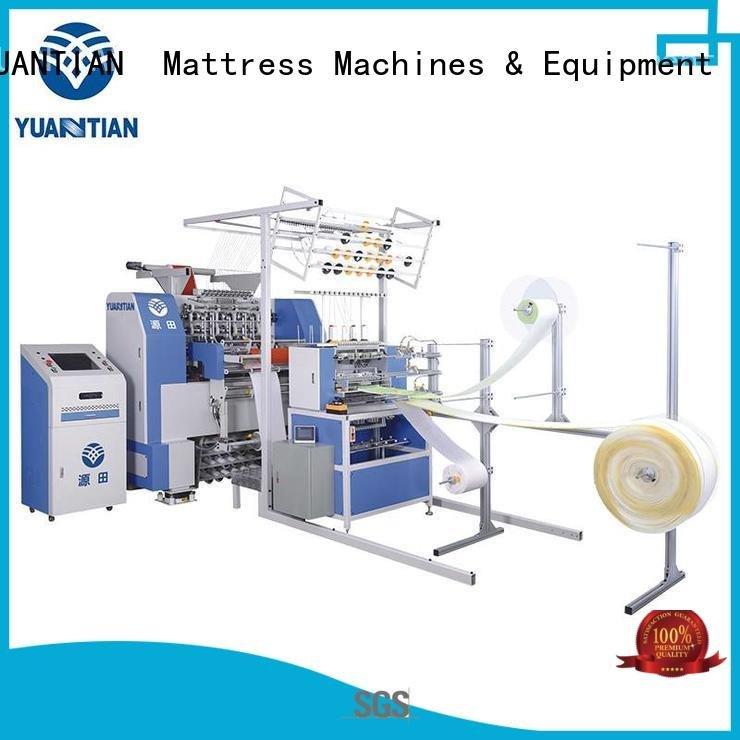 YUANTIAN Mattress Machines quilting machine for mattress multineedle stitching needle heads