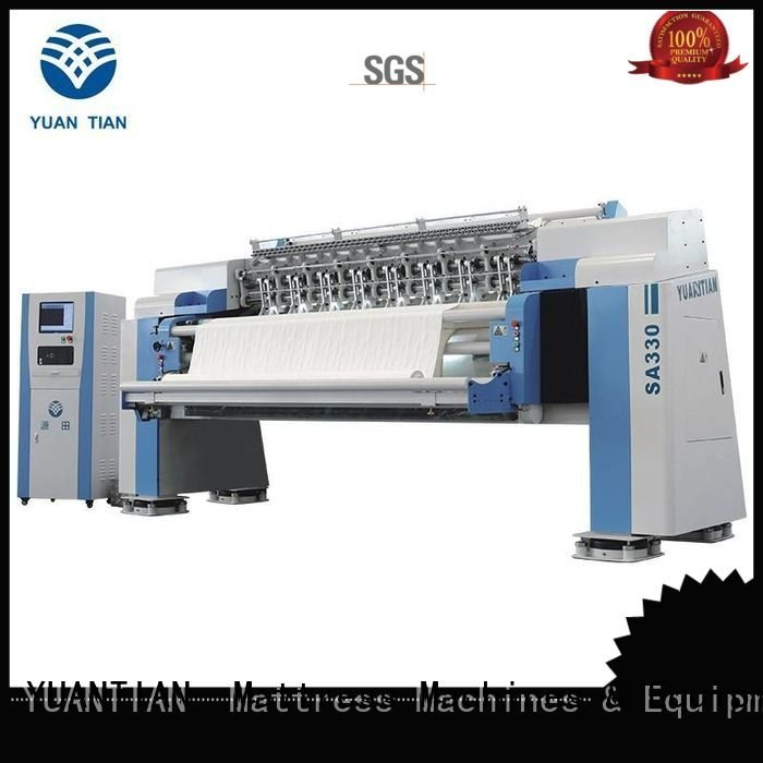 Hot quilting machine for mattress price border quilting machine for mattress dzhf2h YUANTIAN Mattress Machines