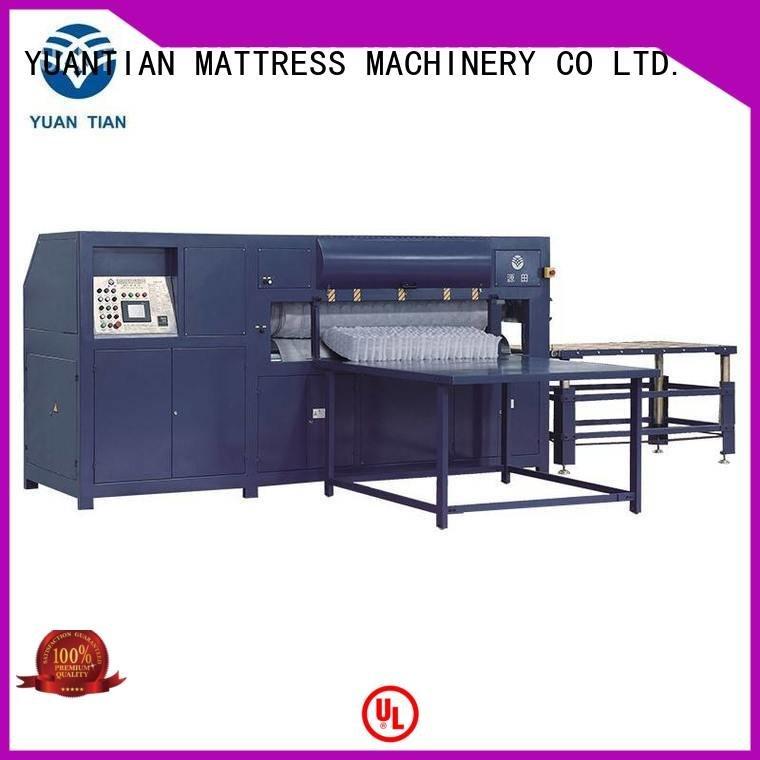 foam mattress making machine cc1 unpressing mattress packing machine YUANTIAN Mattress Machines Brand