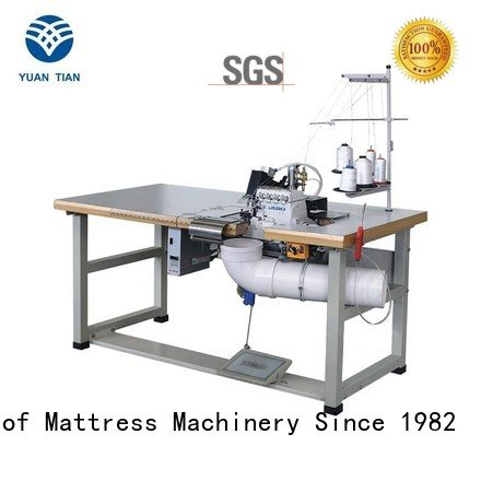 Double Sewing Heads Flanging Machine ds7a ds5b OEM Mattress Flanging Machine YUANTIAN Mattress Machines