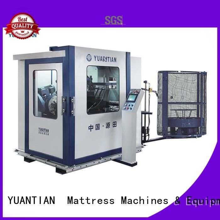 bonnell production automatic line YUANTIAN Mattress Machines bonnell spring machine