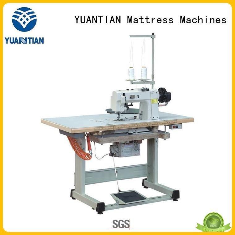 YUANTIAN Mattress Machines Brand binding table mattress tape edge machine top tape