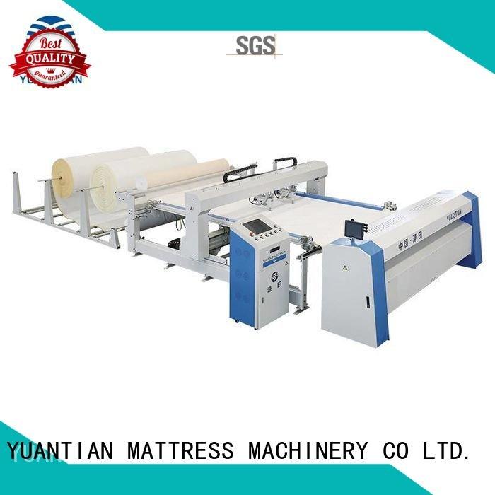 single lockstitch YUANTIAN Mattress Machines quilting machine for mattress price