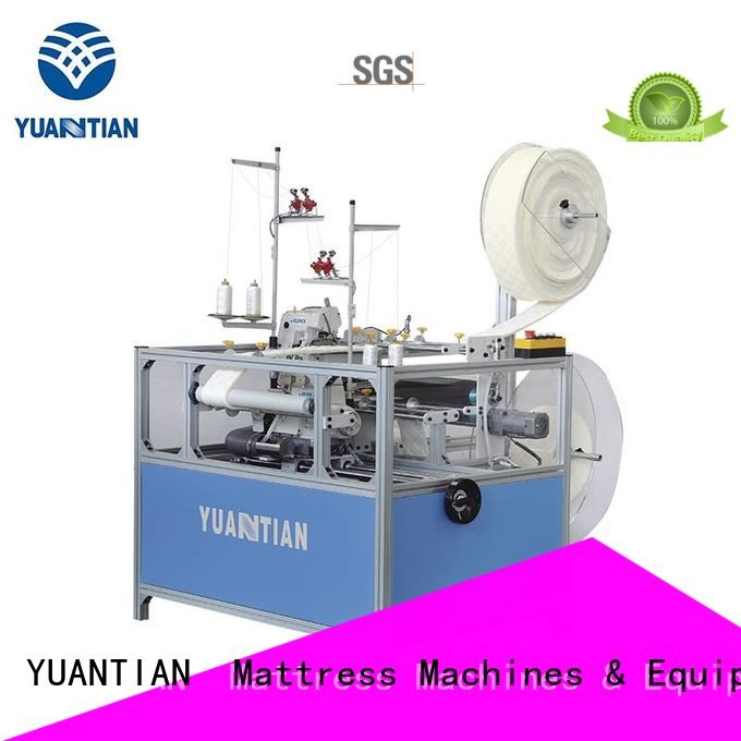 Double Sewing Heads Flanging Machine heads mattress Mattress Flanging Machine YUANTIAN Mattress Machines Warranty