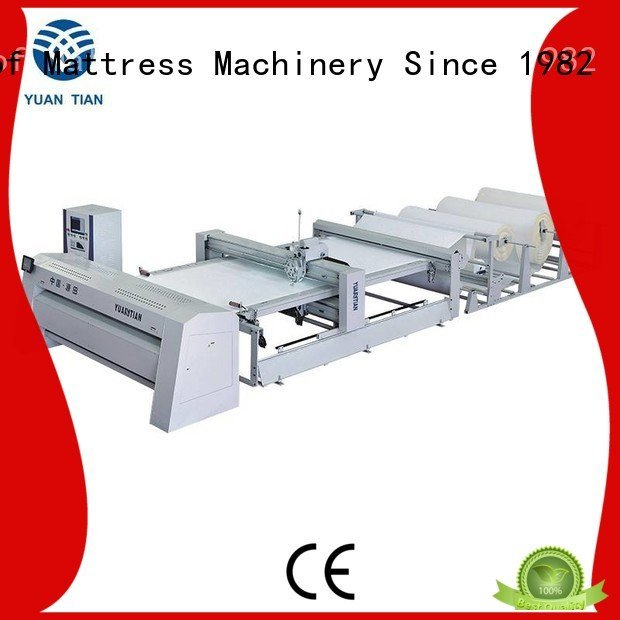 YUANTIAN Mattress Machines Brand multineedle singleneedle sa330 quilting machine for mattress