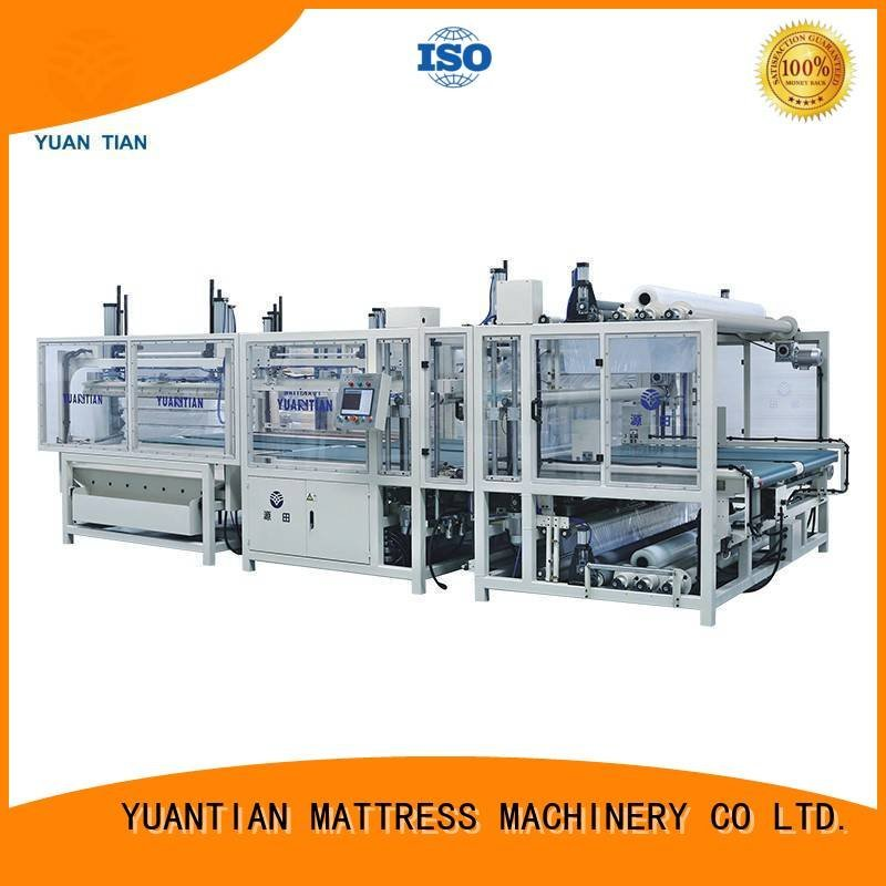 unit straightening spring YUANTIAN Mattress Machines foam mattress making machine