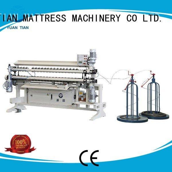 semiauto cw2 YUANTIAN Mattress Machines Bonnell Spring Assembly  Machine